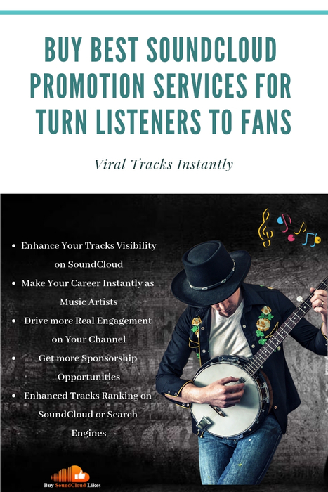 Buy Best SoundCloud Promotion Services for Turn