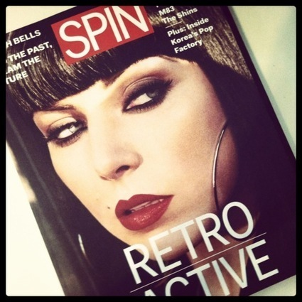 Past, Present, Future: Spin Magazine   Music For Kids Who Can't Read Good: Real life is for March!   WNMC Music   Scoop.it