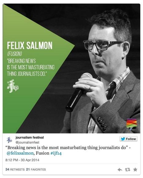 Fini le journalisme de flux ! Vive le journalisme de stock ! | Journalisme et Internet | Scoop.it
