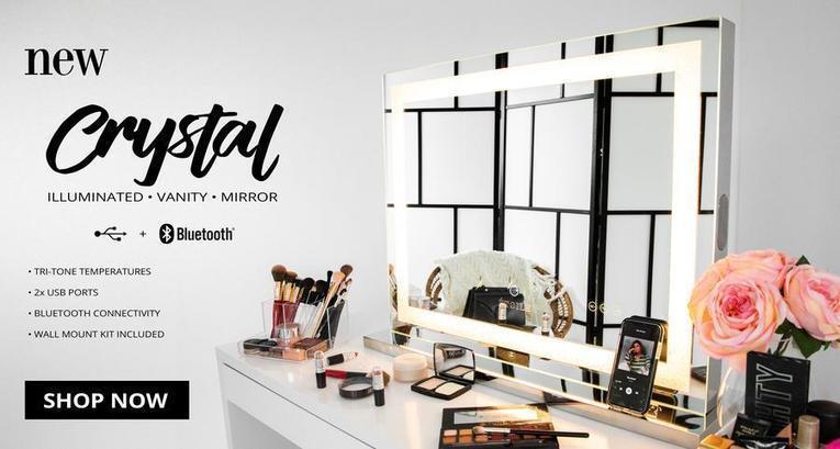 Vanity Makeup Mirrors Storage Accessorie