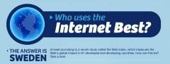 Quel pays utilise le mieux Internet ? | Information visualization | Scoop.it