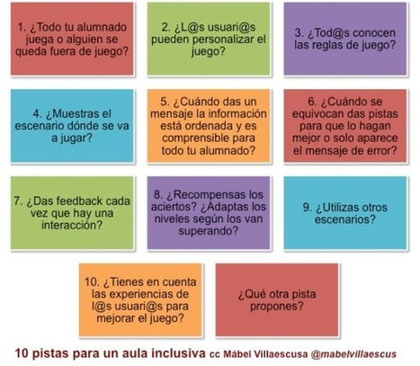 INCLUSIÓN EN EL AULA: Pistas para un aula inclusiva | #TuitOrienta | Scoop.it