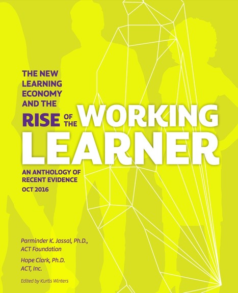[PDF] The new Learning Economy and the rise of the Working Learner | Entretiens Professionnels | Scoop.it