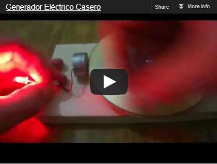 Generador el ctrico casero tecno4 s - Mini generador electrico ...