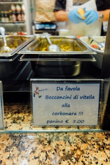 Best Sandwich in Rome: Carbonara Panino from Mordi e Vai – An American in Rome | East Coast Limousine Service | Scoop.it