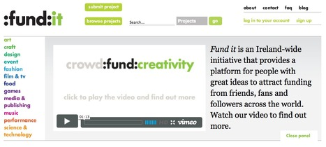 Crowd Fund Creativity platform | references-site-web | Scoop.it