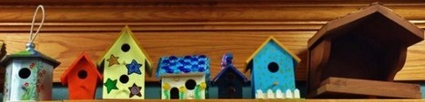 Birdhouses fly to library | Cha-Ching | Scoop.it