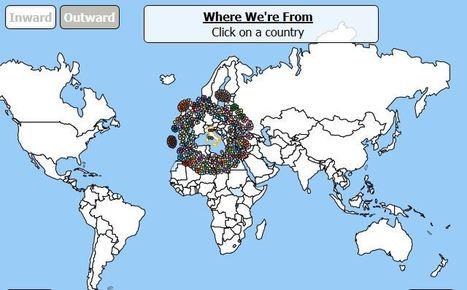 Mapa interactivo conozca la historia de la mig mapa interactivo conozca la historia de la migracin para cada pas del mundo gumiabroncs Choice Image