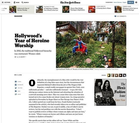 NYT previews redesigned website | Poynter. | Tomorrow's News | Scoop.it
