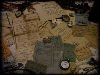 Témoins du passé: affaires personnelles & petits papiers -[1] | Chroniques d'antan et d'ailleurs | Scoop.it