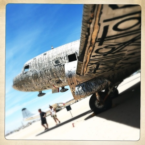 Gallery: The Tattooed, Undead Planes of the Air Force 'Boneyard' | Art Resources | Scoop.it