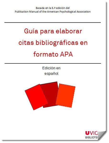 Guía para elaborar citas bibliográficas en formato APA | TICE Tecnologías de la Información y las Comunicaciones - TAC (Tecnologías del Aprendizaje y del Conocimiento) | Scoop.it