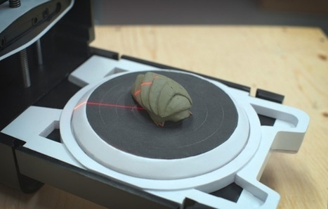 Photon 3D Scanner Unleashes the Power of 3D Printing | OhGizmo! | 3D Printing and Innovative Technology | Scoop.it