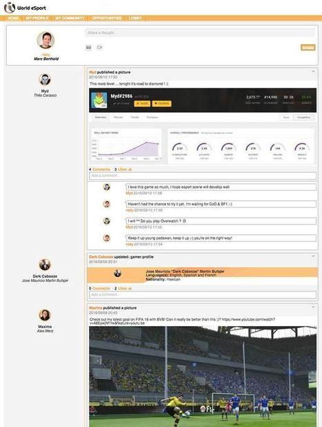Le réseau social World eSport accélère son développement | jeux vidéos Bordeaux | Scoop.it