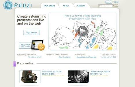 10 Best Online Presentation Tools | Utilidades TIC para el aula | Scoop.it