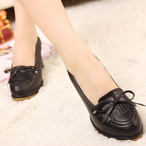 Wholesale Classy ladies pumps womens shoes large size NJ-A818-1 black -  Lovely Fashion c998c80f719