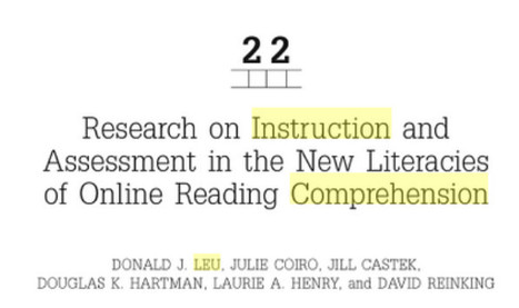 Comprehension Instruction, Second Edition   21st Century Information Fluency   Scoop.it