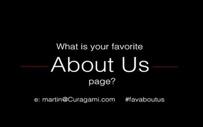 Share Your Favorite About Us Pages - Curagami | Curation Revolution | Scoop.it