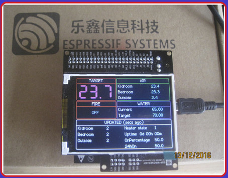 ESP32-WROVER-KIT Devkit Supports Espressif ESP32 Modules, Includes a 3.2″ LCD Display | Embedded Systems News | Scoop.it