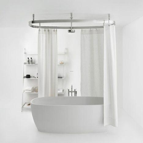 Bathroom Curtain Ideas | Bathroom Design Ideas 2012 | Scoop.it