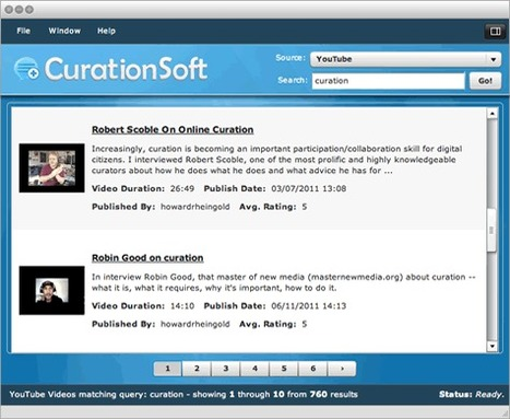 CurationSoft Content Curation Software | HigherEd Using Curation | Scoop.it