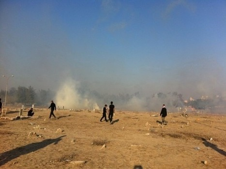 Bahraini regime attacks mourners at funeral with CSgas! | Human Rights and the Will to be free | Scoop.it