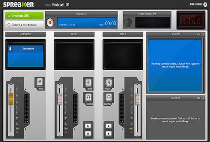 Crea una radio online con Spreaker   Nuevas tecnologías aplicadas a la educación   Educa con TIC   PLE-PLN   Scoop.it