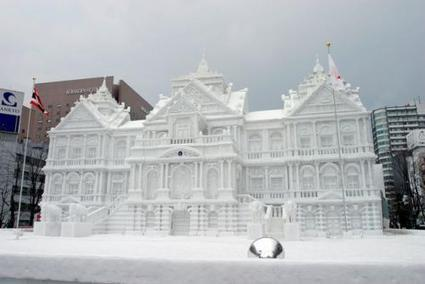 The Magnificent Snow Sculptures from The Sapporo Snow Festival | Architecture and Sculptures | Scoop.it