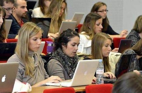 A la fac, l'ordinateur chasse doucement le stylo | jactiv.ouest-france.fr | Learner's perspective | Scoop.it