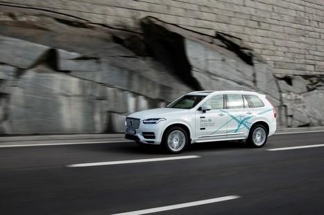 Volvo propose à des familles de participer au développement de ses voitures autonomes | Actu-Moteurs.com | 694028 | Scoop.it