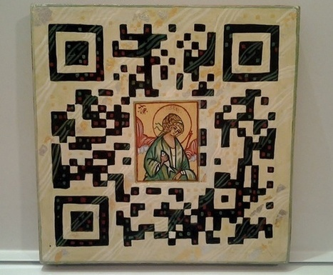 Le QR code se fait religieux | artcode | Scoop.it