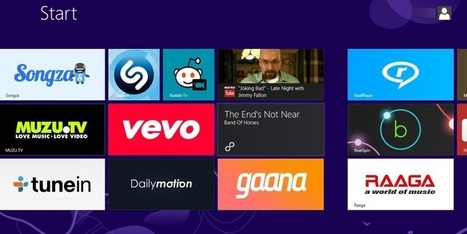 6 Amazing Windows 8 Apps For Enjoying Videos and Music, Modern Style | Using Apps and Social Media in Education | Scoop.it