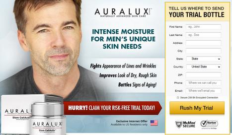 Auralux Stem CellActiv Cream For Men Review - Does It Even Work?   Best Blog   Scoop.it