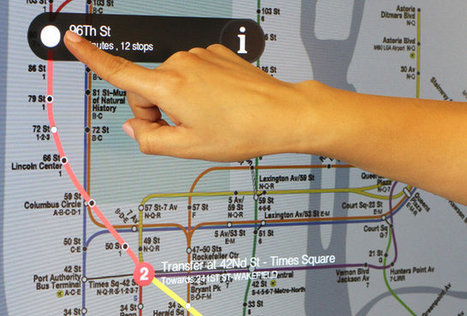 NYC Subways Deploy A Touch-Screen Network, Complete With Apps | green streets | Scoop.it