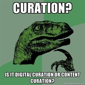 Digital Curation or Content Curation?   Curation in Higher Education   Scoop.it