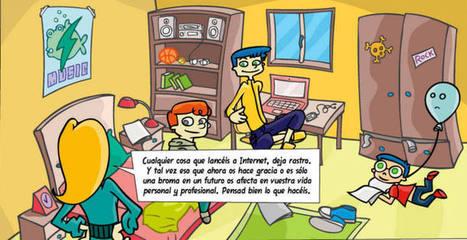 'Tú decides en Internet', una web para enseñar a menores y padres a tener precaución en la red - RTVE.es | Mi VENTANA al MUNDO | Scoop.it