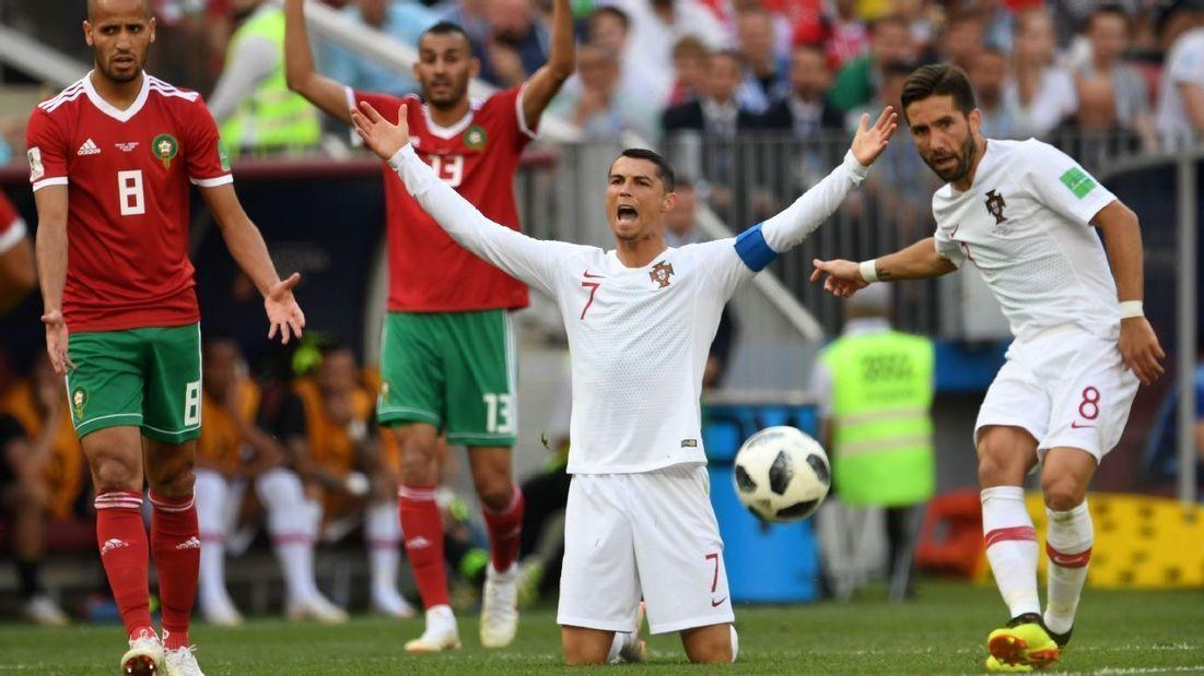 2c878f42fed  Cristiano Ronaldo beats  Morocco