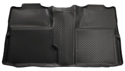 c0313363e01 Husky Liners Custom Fit Second Seat Floor Liner for Select Chevrolet  Silverado GMC Sierra Models (Black)