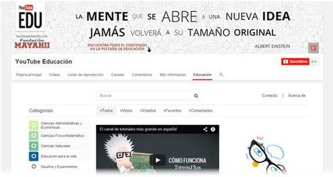 Google presenta YouTube EDU en Español.- | Recursos Tecnologicos Educativos | Scoop.it