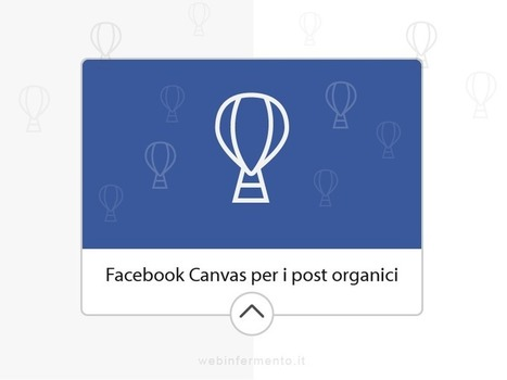Facebook Canvas organici, presto disponibili per tutti | SocialMedia_me | Scoop.it