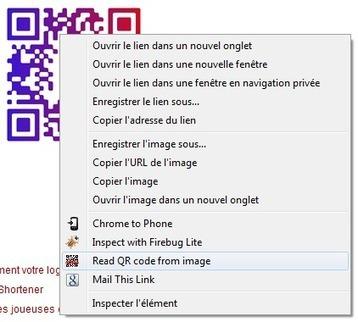 QRreader : Extension Chrome pour lire les code QR depuis votre ordinateur | Mistipi | Outils et  innovations pour mieux trouver, gérer et diffuser l'information | Scoop.it