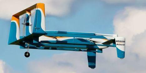Premiers clients pour les drones d'Amazon et deLaPoste | Les Postes et la technologie | Scoop.it