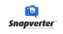 Snapverter - A Simple App to Make Files Accessible in Google Drive | The Spectronics Blog | Learning Support Technologies | Scoop.it