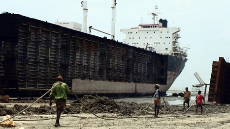The changing face of ship recycling in India - | Occupational and Environment Health | Scoop.it
