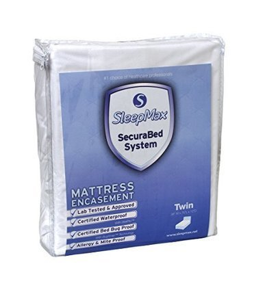 Pillow ZipCover Encasement King Royal Pill The Pristine/® calendared fabric that we use exclusively for our ROYAL line was selected for its proven protection and softness SLEEP SAFE ROYAL BED BUG ROYAL QUALITY and ALLERGEN PROOF DUST MITE