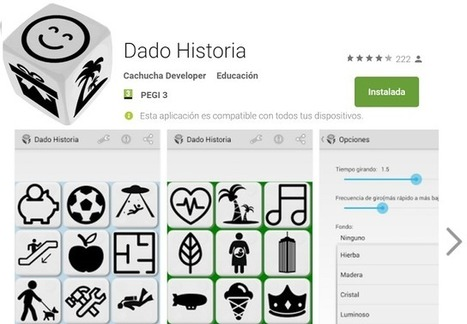 Dado Historia, #app para generar historias | Tools, Tech and education | Scoop.it