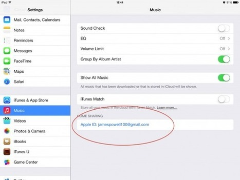 How To Play Your iTunes Library On Your iPhone or iPad | Mac Tricks And Tips | All Things Mac | Scoop.it