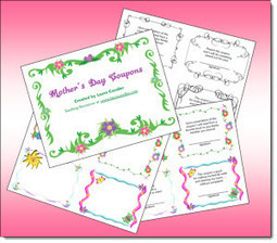 Mother's Day Coupons Freebie | Seasonal Freebies for Teachers | Scoop.it