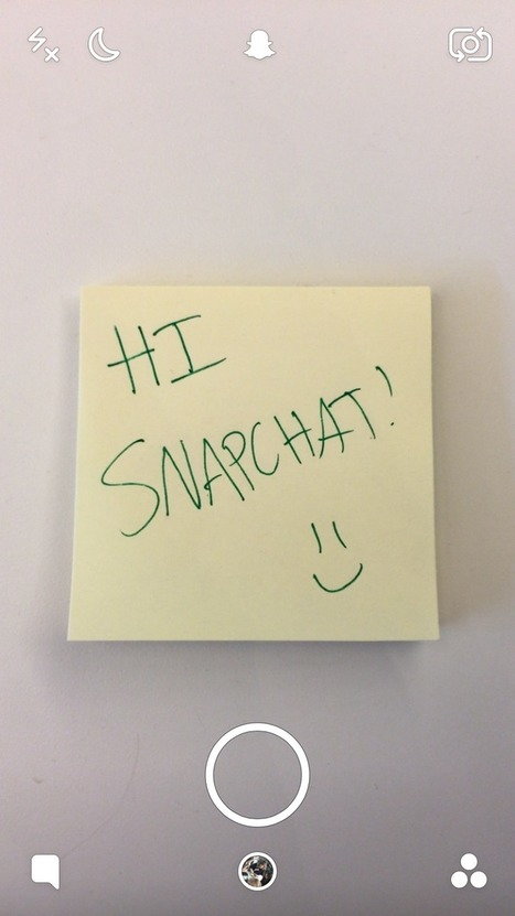 An introduction to Snapchat | Daring Ed Tech | Scoop.it