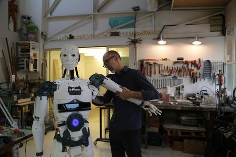 Gaël Langevin, papa d'InMoov, le robot que vous pouvez reproduire chez vous | Une nouvelle civilisation de Robots | Scoop.it
